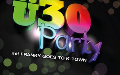 80er 90er Party mit Franky goes to K-Town